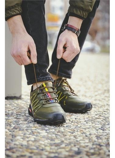 Oksit Filling 756 Erkek Sneaker Haki